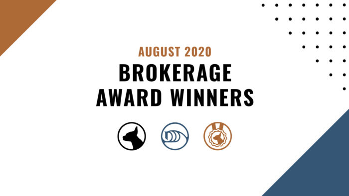 Brokerage Award Winners - July 2020