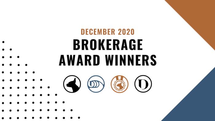 December Brokerage Winners Featured