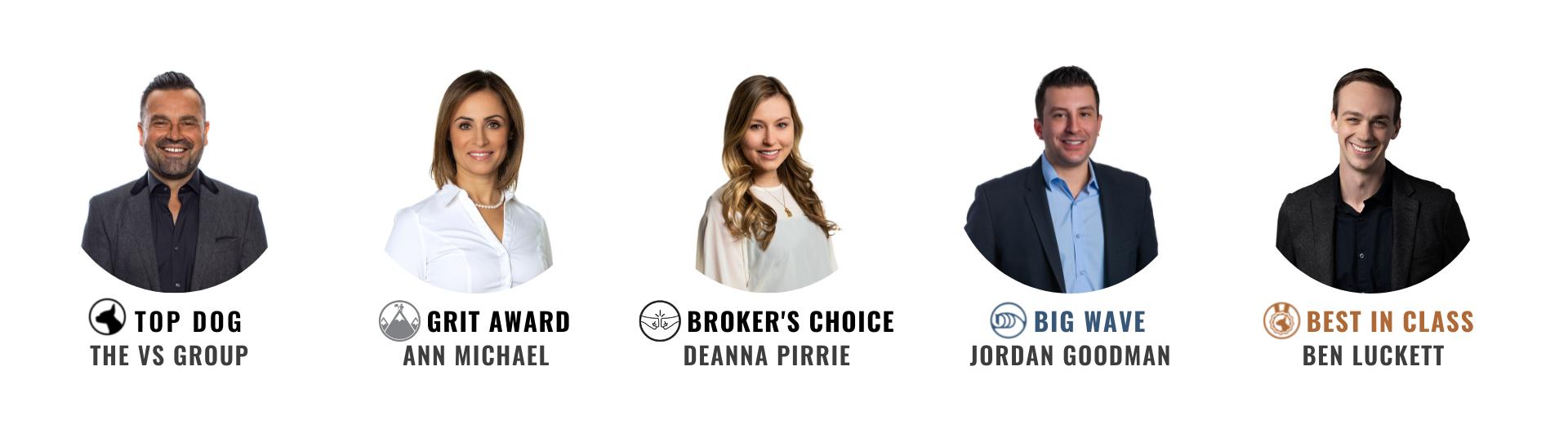 Brokerage Winners