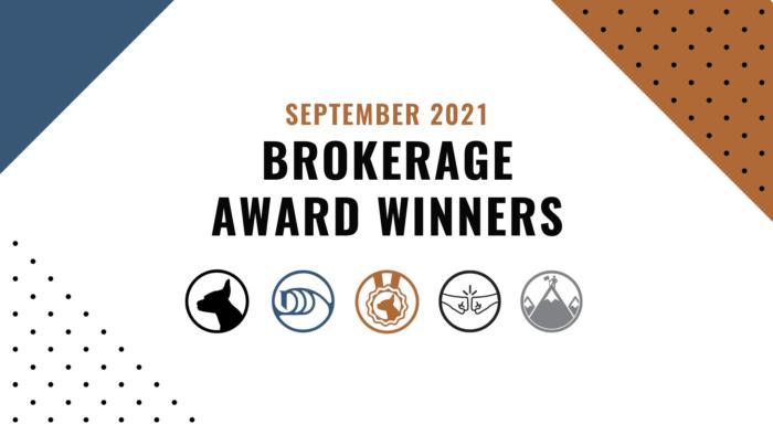 September Brokerage Winners 2021